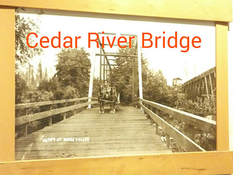 Cedar River Bridge