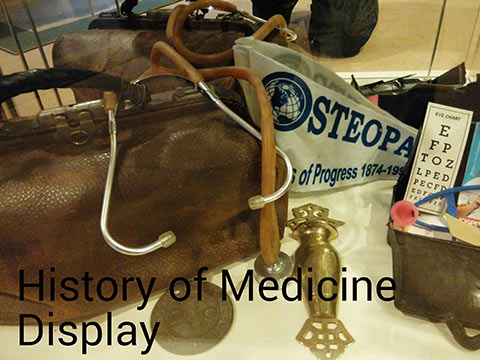 History of Medicine Display