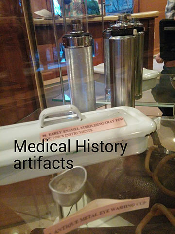 Medical History Artifacts